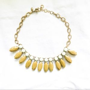 J.Crew Olive and Mint Statement Necklace